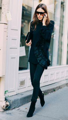 Giorgia Tordini black style