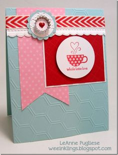Patterned Occasions ~ Stampin' Up! ~ by LeAnne