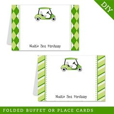 Golf+party++Personalized+DIY+printable+buffet+cards+by+Chickabug,+$7.00