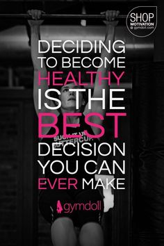 The best decision you can ever make!