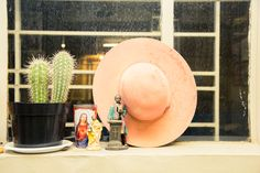The man has a serious hat collection. http://www.thecoveteur.com/theophilus-london/