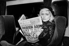 Order a Blondie fine art print at Morrison Hotel Gallery! Taken by Chris Stein in the this Debbie Harry print features the iconic Blondie on the road. Chris Stein, Joey Ramone, Amy Winehouse, Andy Warhol, Madonna, Morrison Hotel, Nostalgic Images, The Muppet Show, Blondie Debbie Harry
