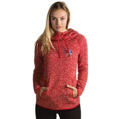 Ladies Recruit Throwback Hood-Red New England Patriots Logo c71bbfbef