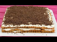 YouTube Jacque Pepin, Biscuits, No Cook Desserts, Chocolate, Tiramisu, Creme, Sweets, Meals, Cooking