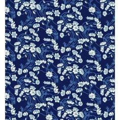 Art Liberty tissus Liberty Stile Lowke bleu par MorningStarFabrics