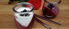 chia pudding met rood fruit
