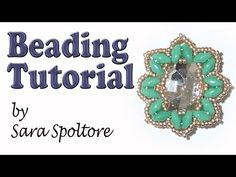 BeadsFriends: beading tutorial - Diy beaded earring - DIY bracelet - YouTube