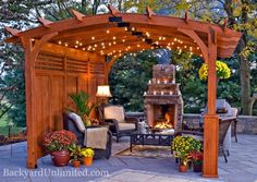 Pergola ideas backyard clww round pergola night 019 edited large are you searching for pergola ideas? take on a backyard project by building stylish pergola plans, a structure traditionally meant to provide shade with the vines growing overhead. Wood Pergola, Backyard Pergola, Desert Backyard, Backyard Ideas, Curved Pergola, Attached Pergola, Cheap Pergola, Pergola Screens, Small Pergola