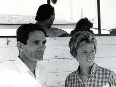 Dacia Maraini e Pierpaolo pasolini.
