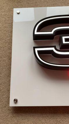 Designed by g4u signs London Shop Signage, Signage Display, Signage Design, Backlit Signage, Cladding Design, Led Logo, Sign Board Design, Plastic Letters, Acrylic Letters