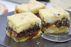 e-cocinablog: tortilla de patata con morcilla y pimientos rojos