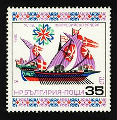 Historic Ships, stamps