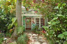 Carriage Cottage Sea Shell Key West Als Dream Garden Cute
