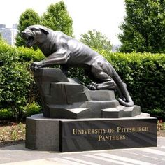The Pitt Panther - Three Graduates! PK - Pitt Law, KK - History & French Undergraduate, EA - Masters in Theater Pittsburgh City, Pittsburgh Sports, University Of Pittsburgh, Pitt Basketball, Pittsburg Pa, Pitt Panthers, Western University, Carolina Panthers, Great Places