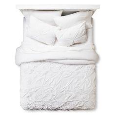 Boho Boutique® Texture Comforter Set - White