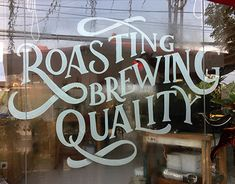 """Check out new work on my @Behance portfolio: """"Window Lettering for Red Spatula Coffee & Roastery"""" http://be.net/gallery/63802901/Window-Lettering-for-Red-Spatula-Coffee-Roastery"""