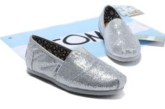 silvery glittery Toms *-*