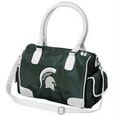 Michigan State Spartans Women's Deluxe Handbag Purse