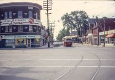 Vintage Photography, Lifestyle Photography, Places Around The World, Around The Worlds, Toronto Ontario Canada, Old City, Landscape Photos, Buses, Vintage Photos