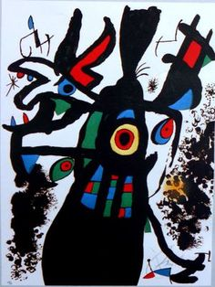 Joan Miró on ArtStack - art online Modern Pictures, Funny Pictures, Miro Artist, Joan Miro Paintings, Spanish Painters, Decoration Piece, Online Art Gallery, Istanbul, Art Projects