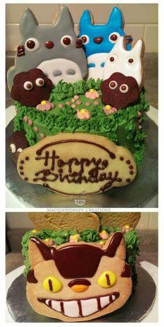 Totoro Theme Cake