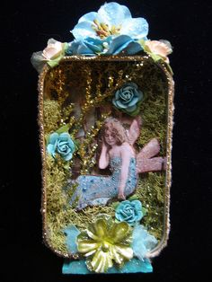 Fairy in the Moss Shadowbox | Flickr - Photo Sharing!