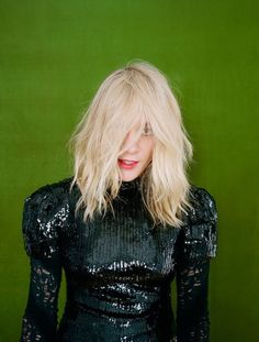 black sequins Chloe Sevigny