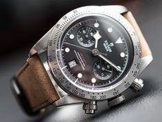 Watches Ideas Starting the day off with a Hands-On article of the new Tudor  Heritage Black Bay Chronograph. Powered by a new-for-the-brand chronograph  ... cf51b66470