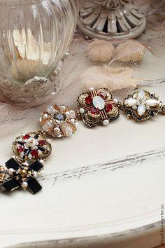 """Купить Браслет """"Венецианские истории"""". - браслет, браслет женский, орден, винтаж, винтажный стиль, красный"""