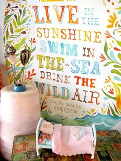 A great quote for beach layouts.