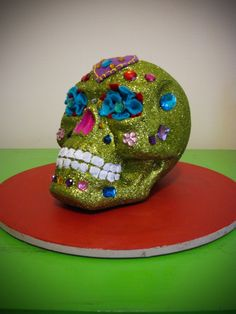 The Daily Telecraft: DIY: A Day of the Dead Sugar Skull Decoration Tutorial