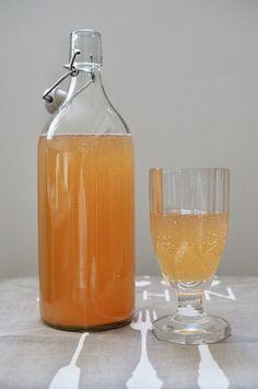 Tibi limonády aneb jak na vodní kefír - Life Food Travel. Food Travel, Kefir, Kombucha, Alcoholic Drinks, Wine, Glass, Blog, Drinkware, Corning Glass