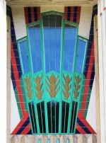 Art Deco tiles 1932 Tiled entrance to the Hoover Building, London