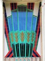 Art Deco tiles 1932 Tiled entrance to the Hoover Building, London Art Deco Bathroom, Art Nouveau Tiles, Hoover Building, William Morris Art, Textiles, Art Deco Period, Needful Things, Tile Art, Eclectic Style