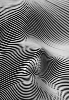 Aluminum texture makes for stunning inspiration. Pattern Texture, 3d Pattern, 3d Texture, Texture Design, Surface Pattern, Line Texture, Op Art, Arte Yin Yang, Design Graphique