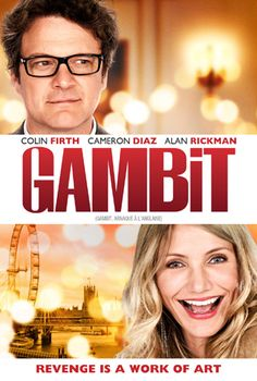 Caper comedy 'Gambit' starring Colin Firth and Cameron Diaz is on DVD & VOD now!