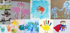 Les empreintes de main sont les projets manuels préférés des tout-petits. Les enfants peuvent créer beaucoup de dessins amusants en utilisant simplement leurs mains. Ce genre d\\\'activité manuelle permet de graver à jamais l\\\'empreinte de main des enfants (doux souvenir) et peut faire de très beaux cadeaux pour la fête ... Art N Craft, School Holidays, Classroom Activities, Fathers Day Gifts, Kids Learning, About Me Blog, Animation, Kids Rugs, Hand Painted