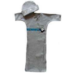 Jacquis Baby Boys Rock Star Bunting Gown Set 03 Months * Check this awesome product by going to the link at the image. (This is an affiliate link) Baby Boy Gowns, Boys Sleepwear, Gown Suit, Preemie Babies, Baby Bunting, Long Sleeve Gown, Sleep Sacks, Baby Skin, Night Gown