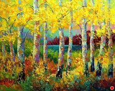 Autumn Jewels by Marion Rose Acrylic ~ 24 x 30