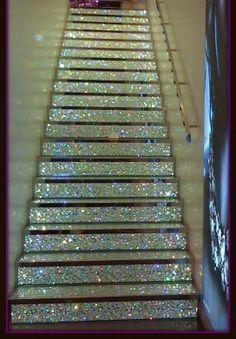 My future staircase ... Sparkle sparkle sparkle