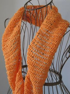 Balls to the Walls Knits: Feather Lace Cowl