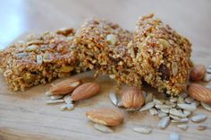 honey and nut bars (with coconut oil)