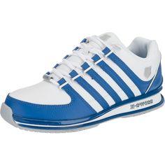 #K-SWISS #Herren #Sneaker #Rinzler #SP #weiß - Die K-SWISS Rinzler Sp Sneakers zeigen sich in einem stabilen, sportiven Look. Die dicke Polsterung an der Zunge und im Einstiegsbereich sorgt für ein komfortables Tragegefühl.