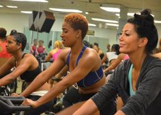 Fabulous Finalist week puts the top candidates through many different kinds of workouts to see which girls have what it takes to become an Atlanta Hawks Cheerleader. The intense workout regimen began with a two-hour long Spin Class.