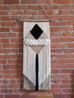 Handmade Woven Wall Art - The Erin - READY TO SHIP by TheUrbanLoomShop on Etsy