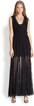 Alice + Olivia Sami Silk Lace Dress on shopstyle.com