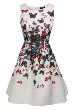 ACEVOG Women Sleeveless Garden Bubble Mini Party Dress