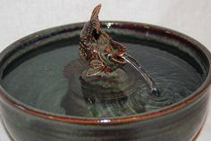 Pet Fountain Ceramic Cat Fountain Cat Water by CatFountains