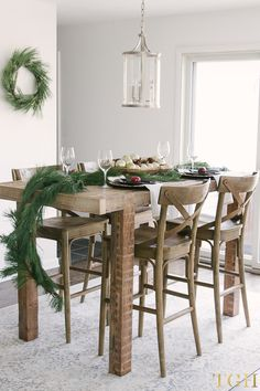 Simple Decorating Tips For Christmas. Mid Century Modern Dining RoomMODERN  ...