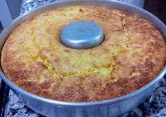3 Ovos 1 Lata de Milho Verde sem a água 1 Lata de leite condensado 100 gramas de coco Ralado 1 Colher de sopa de Manteiga 1 Colher de sopa de Fermento Comentários comments